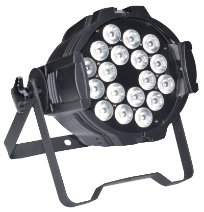 Par Light Indoor:18*10w full color 4-in-1