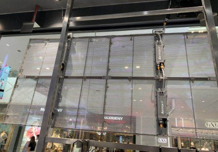 Transparent LED screen, Blinds LED Screen